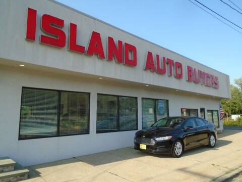 2016 Ford Fusion for sale at Island Auto Buyers in West Babylon NY