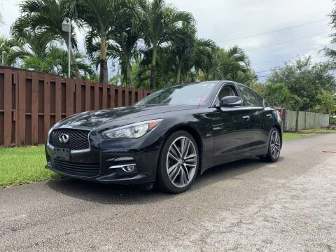 2017 Infiniti Q50 for sale at Auto Direct of South Broward in Miramar FL