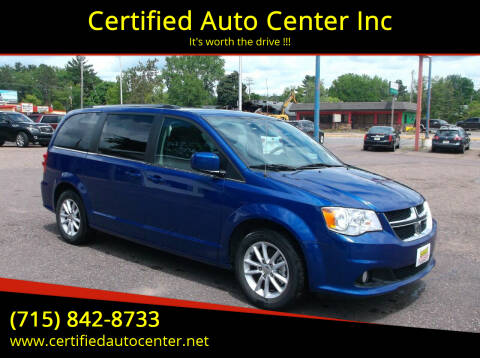 2019 Dodge Grand Caravan for sale at Certified Auto Center Inc in Wausau WI