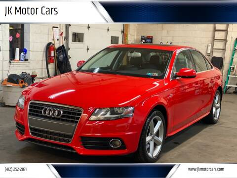 2012 Audi A4 for sale at JK Motor Cars in Pittsburgh PA