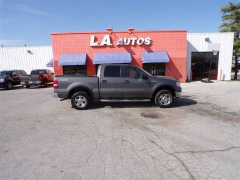 2006 Ford F-150 for sale at L A AUTOS in Omaha NE