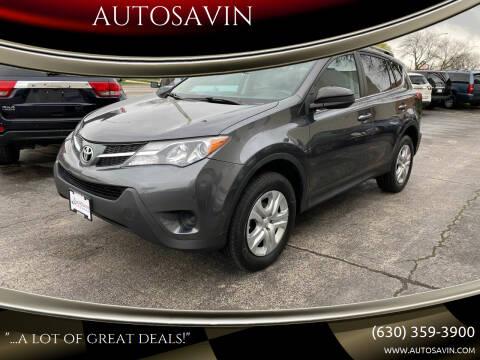 2015 Toyota RAV4 for sale at AUTOSAVIN in Elmhurst IL