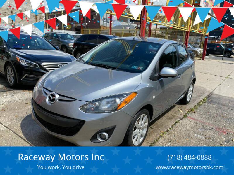 2013 Mazda MAZDA2 for sale at Raceway Motors Inc in Brooklyn NY
