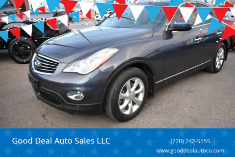 2010 Infiniti EX35 for sale at Good Deal Auto Sales LLC in Denver CO