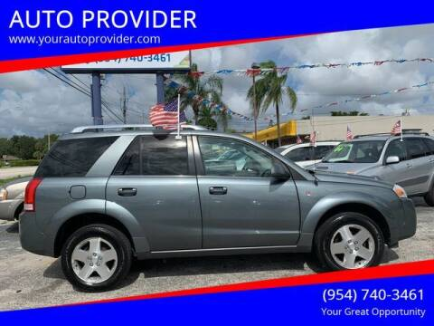 2007 Saturn Vue for sale at AUTO PROVIDER in Fort Lauderdale FL
