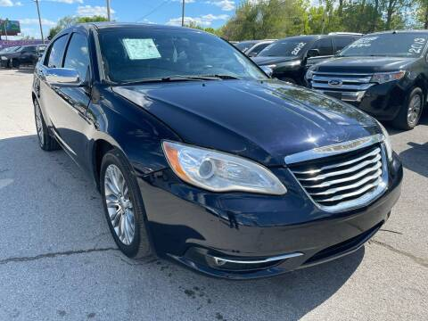 2012 Chrysler 200 for sale at Empire Auto Group in Indianapolis IN