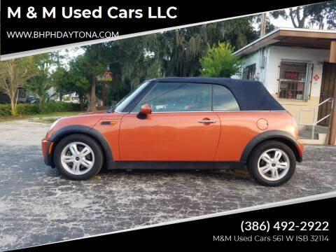 2005 MINI Cooper for sale at M & M Used Cars LLC in Daytona Beach FL