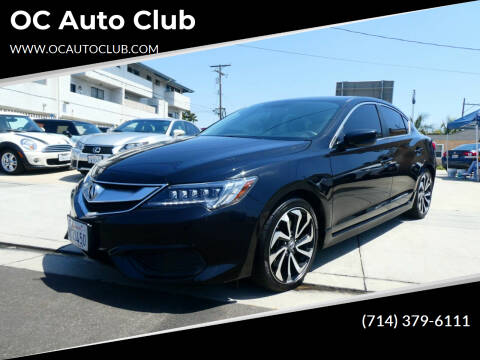 2018 Acura ILX for sale at OC Auto Club in Midway City CA