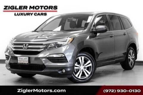 2017 Honda Pilot for sale at Zigler Motors in Addison TX