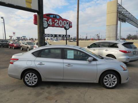2014 Nissan Sentra for sale at The Car Shack in Corpus Christi TX