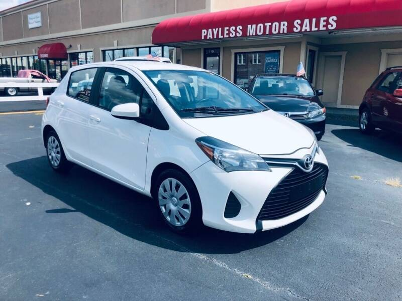 2016 Toyota Yaris for sale at Payless Motor Sales LLC in Burlington NC