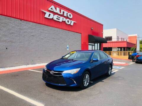 2015 Toyota Camry for sale at Auto Depot of Smyrna in Smyrna TN