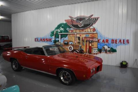 1970 Pontiac GTO for sale at Classic Car Deals in Cadillac MI