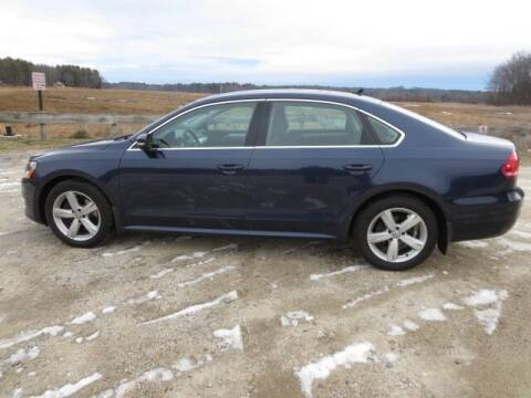 2013 Volkswagen Passat for sale at Renaissance Auto Wholesalers in Newmarket NH