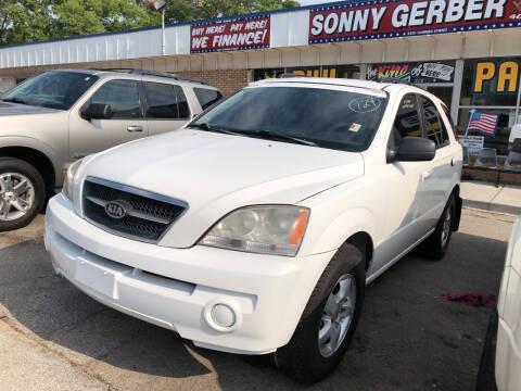 2008 Kia Sorento for sale at Sonny Gerber Auto Sales in Omaha NE