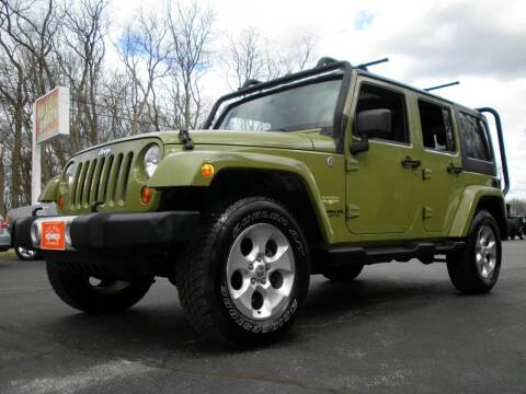 2013 Jeep Wrangler Unlimited for sale at Auto Brite Auto Sales in Perry OH