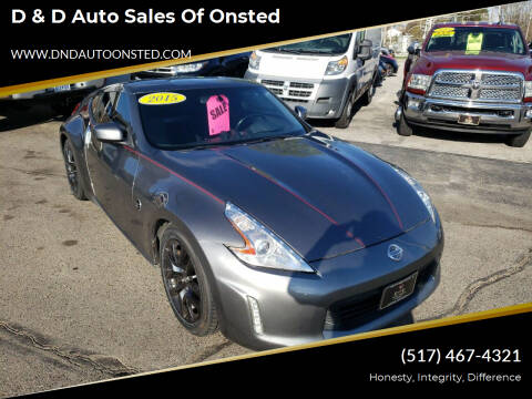 2015 Nissan 370Z for sale at D & D Auto Sales Of Onsted in Onsted   Brooklyn MI