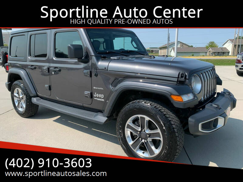 2018 Jeep Wrangler Unlimited for sale at Sportline Auto Center in Columbus NE