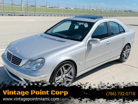 2002 Mercedes-Benz C-Class for sale at Vintage Point Corp in Miami FL