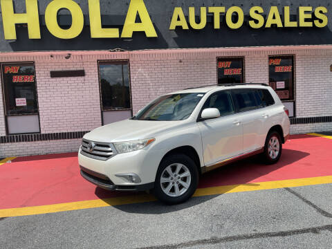 2013 Toyota Highlander for sale at HOLA AUTO SALES CHAMBLEE- BUY HERE PAY HERE - in Atlanta GA