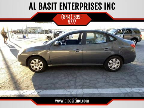 2009 Hyundai Elantra for sale at AL BASIT ENTERPRISES INC in Riverside CA