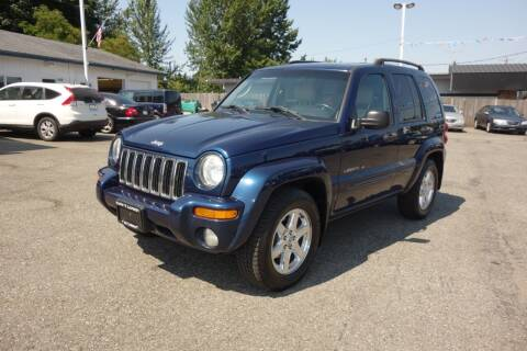 2003 Jeep Liberty for sale at Leavitt Auto Sales and Used Car City in Everett WA