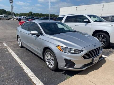 2019 Ford Fusion Hybrid for sale at Jerry's Buick GMC in Weatherford TX