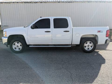2012 Chevrolet Silverado 1500 for sale at TNK Autos in Inman KS