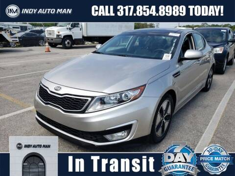 2013 Kia Optima Hybrid for sale at INDY AUTO MAN in Indianapolis IN