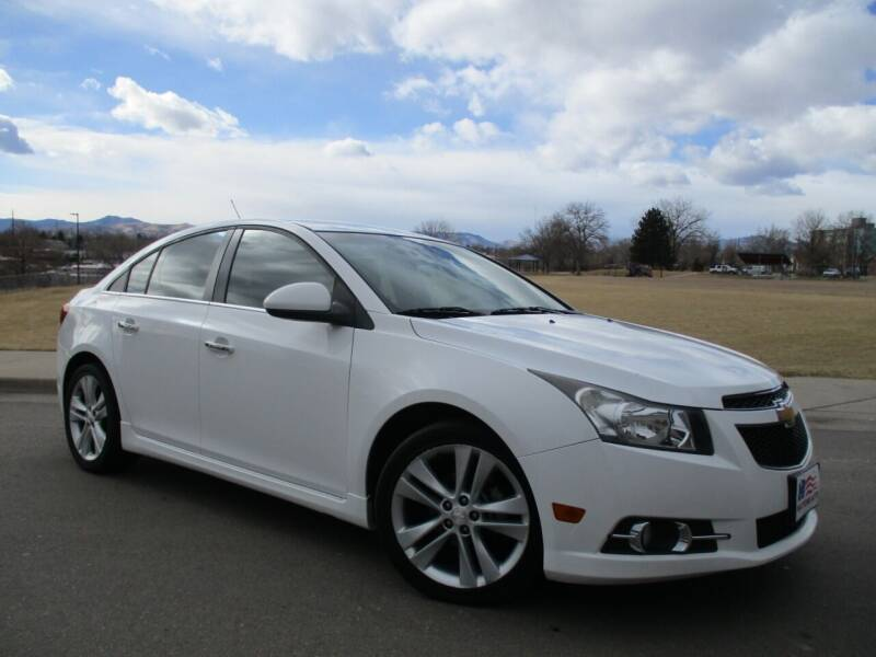 2013 Chevrolet Cruze for sale at Nations Auto in Lakewood CO