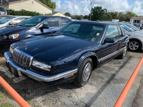 1993 Buick Riviera for sale at MILLENIUM MOTOR SALES, INC. in Rosenberg TX