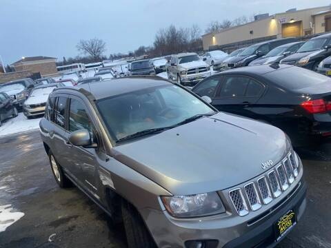 2014 Jeep Compass for sale at ENZO AUTO in Parma OH