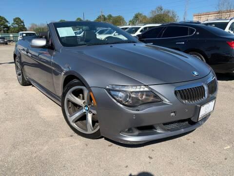 2009 BMW 6 Series for sale at KAYALAR MOTORS in Houston TX