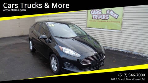 2016 Ford Fiesta for sale at Cars Trucks & More in Howell MI