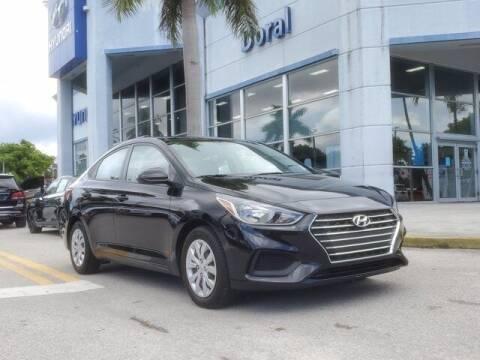 2020 Hyundai Accent for sale at DORAL HYUNDAI in Doral FL