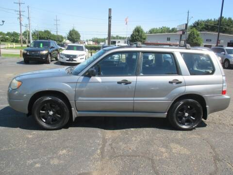 2007 Subaru Forester for sale at Home Street Auto Sales in Mishawaka IN