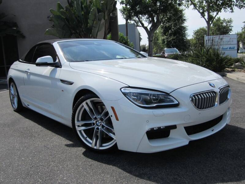 2017 BMW 6 Series for sale at ORANGE COUNTY AUTO WHOLESALE in Irvine CA