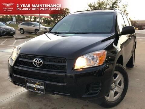 2010 Toyota RAV4 for sale at European Motors Inc in Plano TX