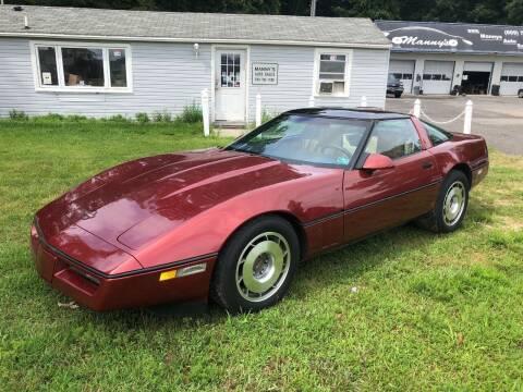 1987 Chevrolet Corvette for sale at Manny's Auto Sales in Winslow NJ