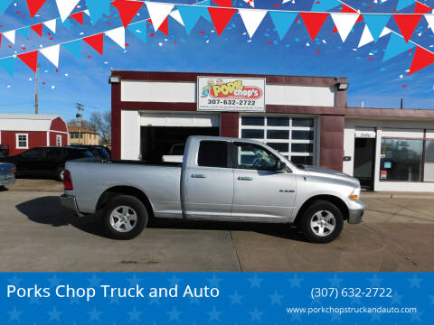 2010 Dodge Ram Pickup 1500 for sale at Pork Chops Truck and Auto in Cheyenne WY