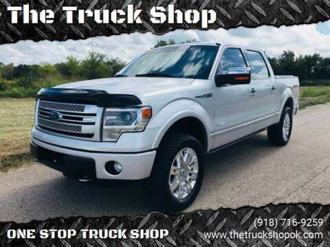 2013 Ford F-150 for sale at The Truck Shop in Okemah OK