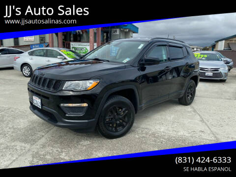 2018 Jeep Compass for sale at JJ's Auto Sales in Salinas CA