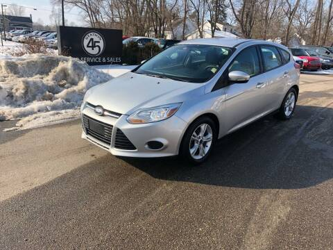 2014 Ford Focus for sale at Station 45 Auto Sales Inc in Allendale MI