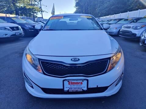 2014 Kia Optima for sale at Elmora Auto Sales in Elizabeth NJ