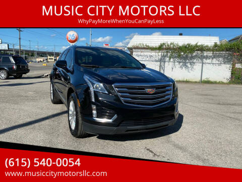 2017 Cadillac XT5 for sale at MUSIC CITY MOTORS LLC in Nashville TN