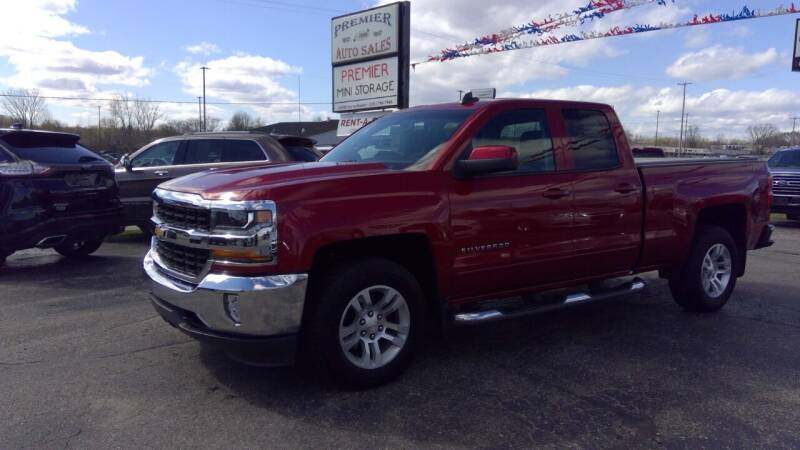 2019 Chevrolet Silverado 1500 LD for sale at Premier Auto Sales Inc. in Big Rapids MI