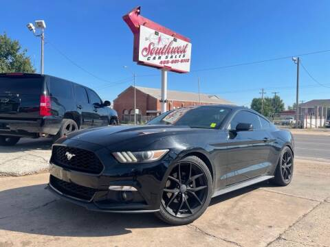 2016 Ford Mustang for sale at Southwest Car Sales in Oklahoma City OK