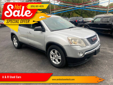2012 GMC Acadia for sale at A & R Used Cars in Clayton NJ