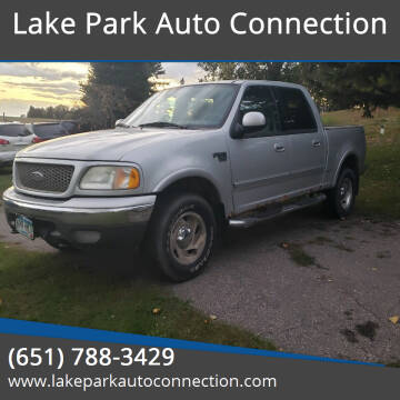 2003 Ford F-150 for sale at Lake Park Auto Connection in Lake Park MN