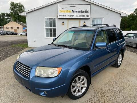 2007 Subaru Forester for sale at COLUMBUS AUTOMOTIVE in Reynoldsburg OH